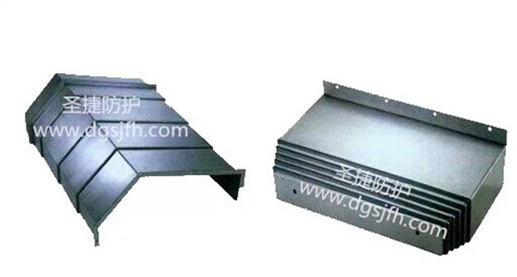 Machine slide way covers metal cover for cnc