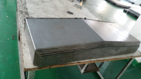 machine slide-way covers stainless steel rail cover for cnc machine